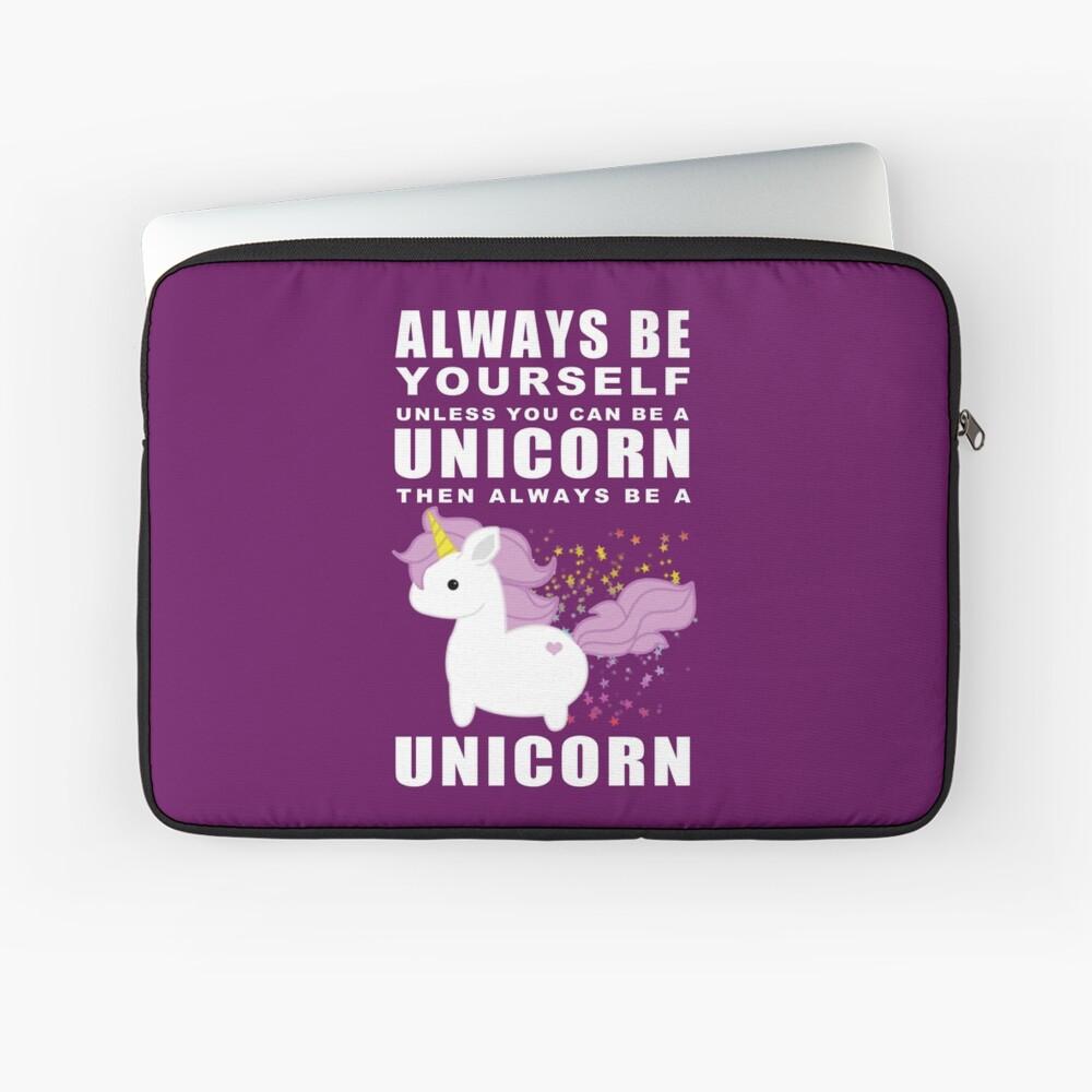 Siempre - Unicornio Funda para portátil