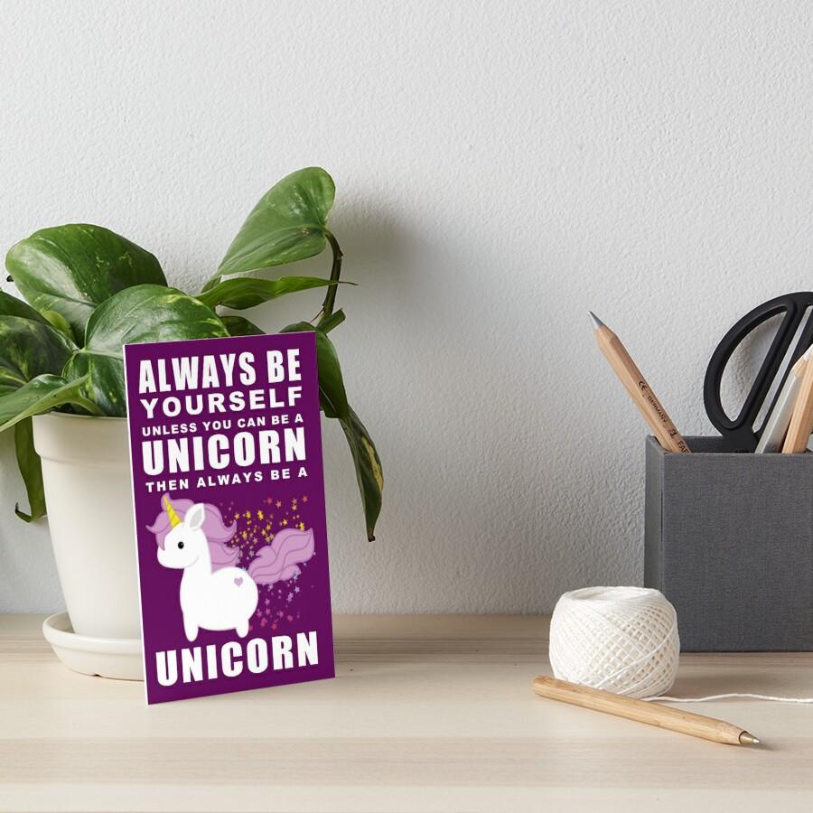 Siempre - Unicornio Lámina rígida