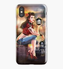 SheVibe Bomb Girl Cover Art iPhone Case