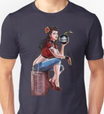 SheVibe Bomb Girl Cover Art Unisex T-Shirt