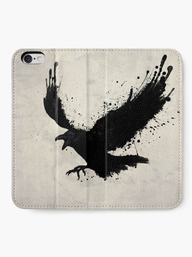 Alternate view of Raven iPhone Wallet