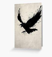Tarjeta de felicitación Cuervo