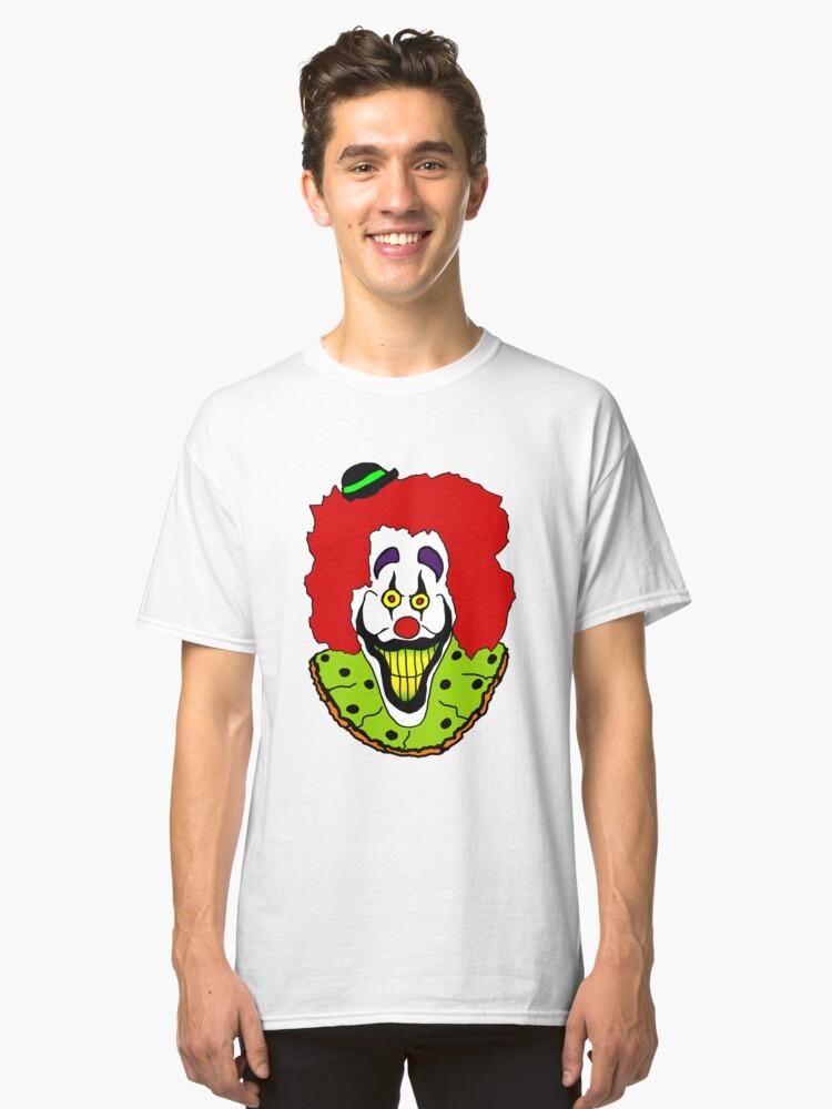 Alternate view of  Zeebo the Clown Classic T-Shirt