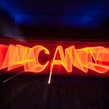 Neon red vacancy sign  by brians101