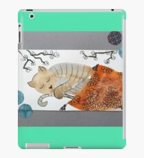 Happy cat !!! iPad Case/Skin