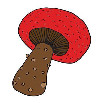 Red Mushroom by SaTara
