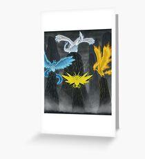 Legendary Birds Greeting Card