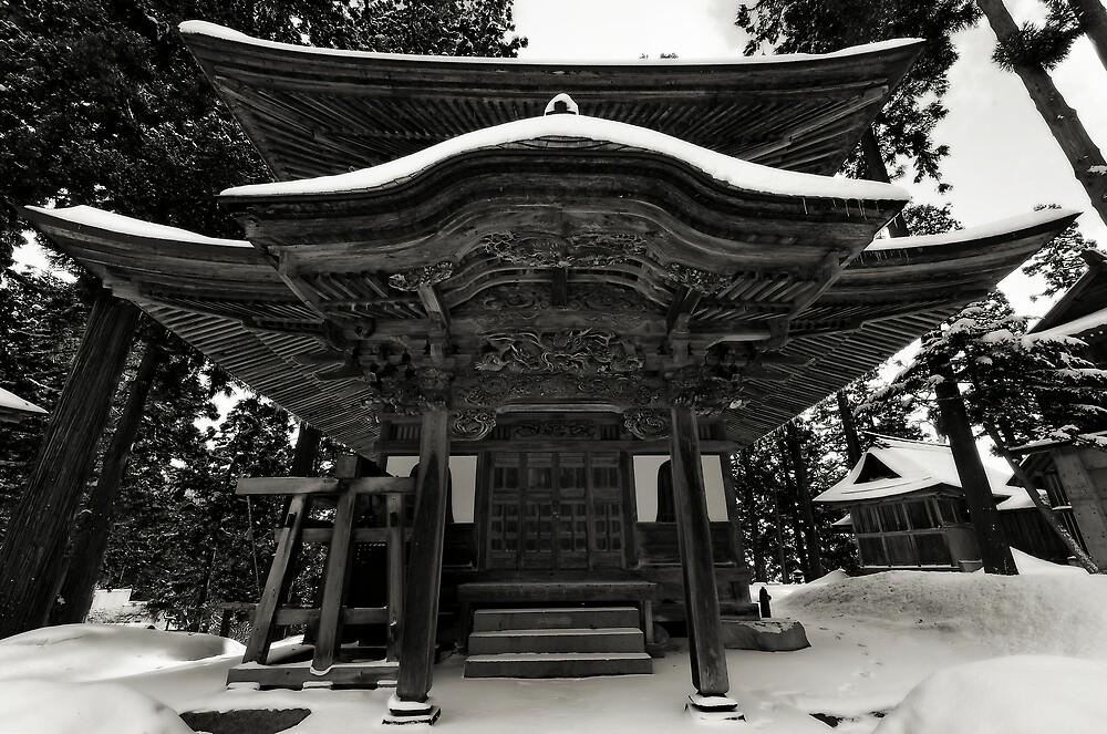 Nozawa Temples by Robert Mullner