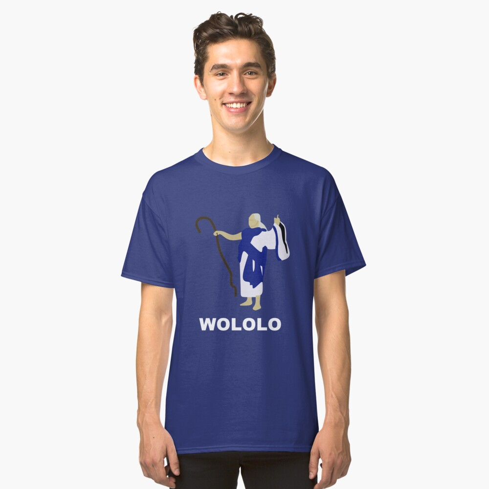 Wololo (blau) Classic T-Shirt