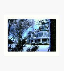 Victorian Winter Art Print