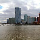 Lower Jersey City On The Hudson Rv. by pmarella