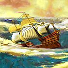 The 19th century Mary Rose, Henry VIII's Main Battleship, sinking (includes video) by Dennis Melling