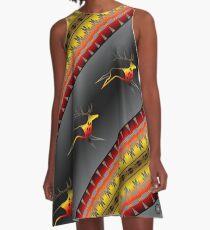 Elk Spirit (BRYB) A-Line Dress