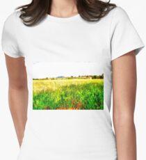 Wheat Field Women's Fitted T-Shirt