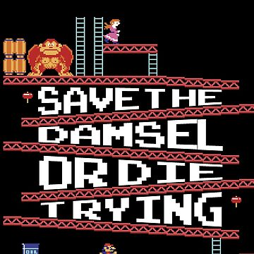 Save The Damsel by CallingAllNerds