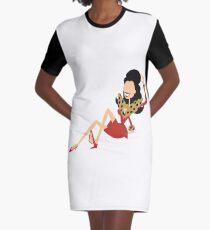 The Nanny Graphic T-Shirt Dress