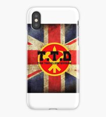Time travellers Division iPhone Case/Skin