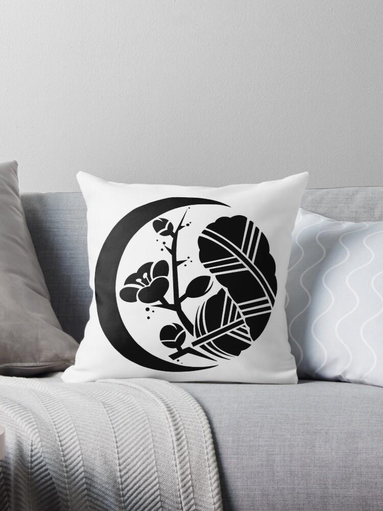 \u0027Artemis tattoo\u0027 Throw Pillow by Myriam Fali