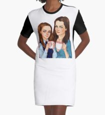 Rory and Lorelai Robe t-shirt