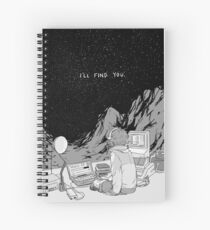 Voltron Pidge gunderson black and white Spiral Notebook