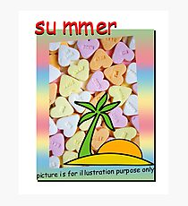summer - picture is for illustration purpose only Photographic Print