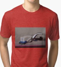 Vinyl rules!  Tri-blend T-Shirt