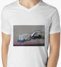 Vinyl rules!  Men's V-Neck T-Shirt