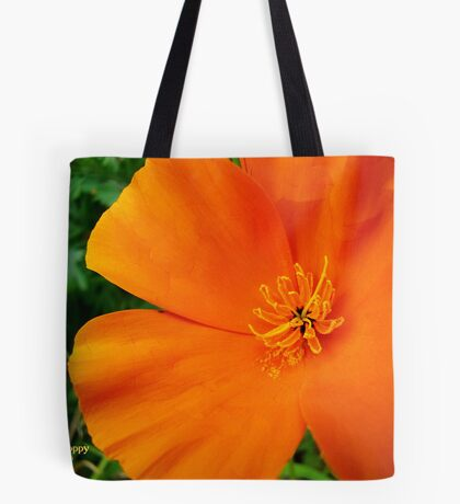 Mexican Poppy Tote Bag
