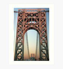 George Washington Bridge-NYC Art Print