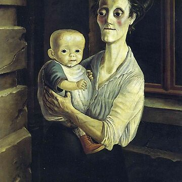 OTTO DIX Mother + Child 1921 by TheGrandTour
