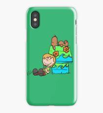 SNOOPY-DOO - SHAGGY BROWN iPhone Case/Skin