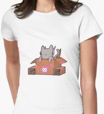 Camiseta entallada para mujer D.Cat
