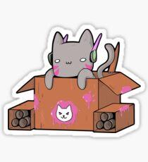 D.Cat Sticker