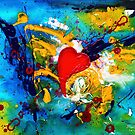 Passion | Abstract Painting by Maria Meester