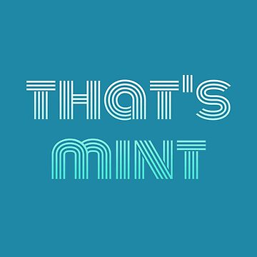 That's Mint (Stripes) by aural-imprints
