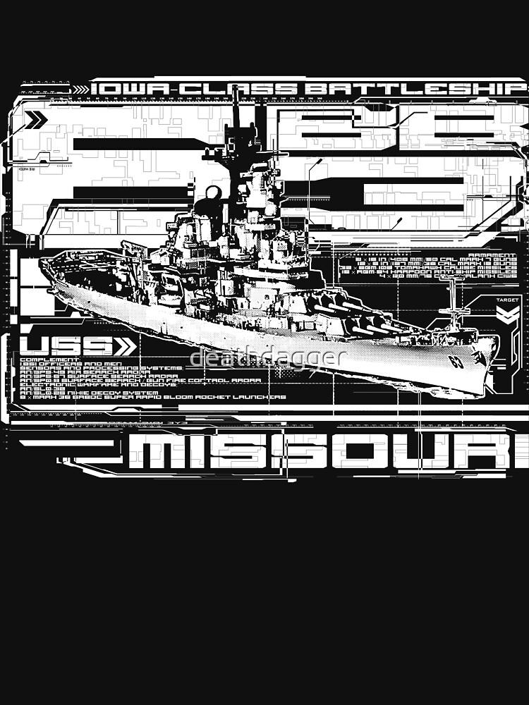 Schlachtschiff Missouri von deathdagger
