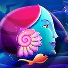 Underwater Fantasy Wall Fine Art by Gotcha29