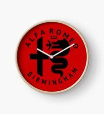 Alfa Romeo of Birmingham Crest Clock