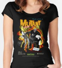 Goatess Doomwych : Mutant Scream Women's Fitted Scoop T-Shirt