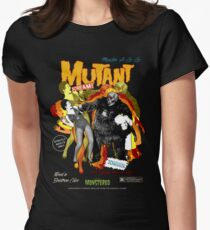 Goatess Doomwych : Mutant Scream Women's Fitted T-Shirt