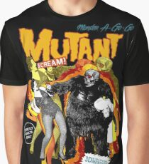 Goatess Doomwych : Mutant Scream Graphic T-Shirt