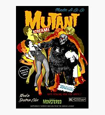 Goatess Doomwych : Mutant Scream Photographic Print