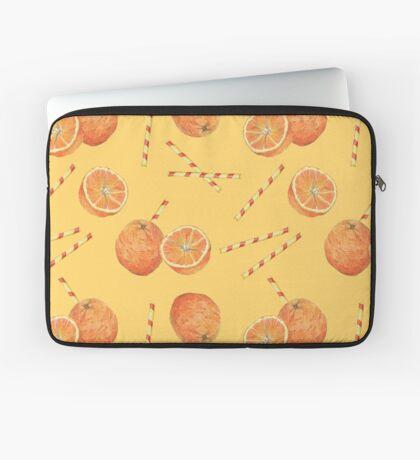 orange juice _light Laptop Sleeve