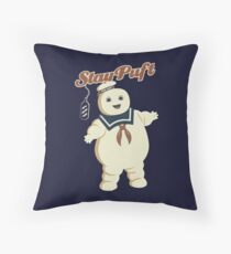 STAY PUFT - MARSHMALLOW MAN GHOSTBUSTERS Throw Pillow