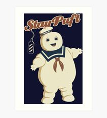 STAY PUFT - MARSHMALLOW MAN GHOSTBUSTERS Art Print