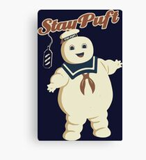 STAY PUFT - MARSHMALLOW MAN GHOSTBUSTERS Canvas Print