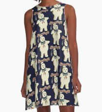 STAY PUFT - MARSHMALLOW MAN GHOSTBUSTERS A-Line Dress