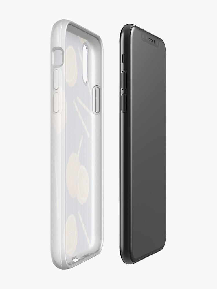 Alternate view of orange juice _blue iPhone Case & Cover