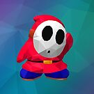 Low Poly Art - Shy Guy by giftmones