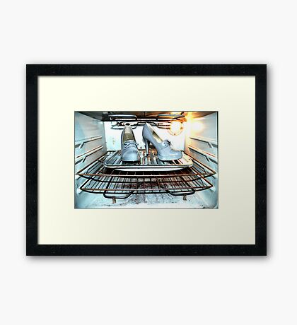 Stick me with a fork... Framed Print